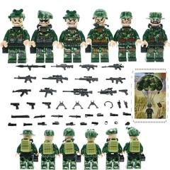 Минифигурки Военных Парашютисты серия 169