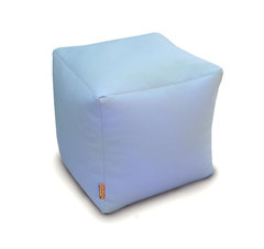 Пуфик куб Голубой