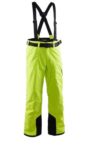 Мужские горнолыжные брюки 8848 Altitude Base 67 (lime) с подтяжками