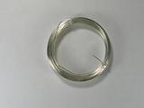 Проволока серебристая с медным сердечником, 0,6 мм, 10 м