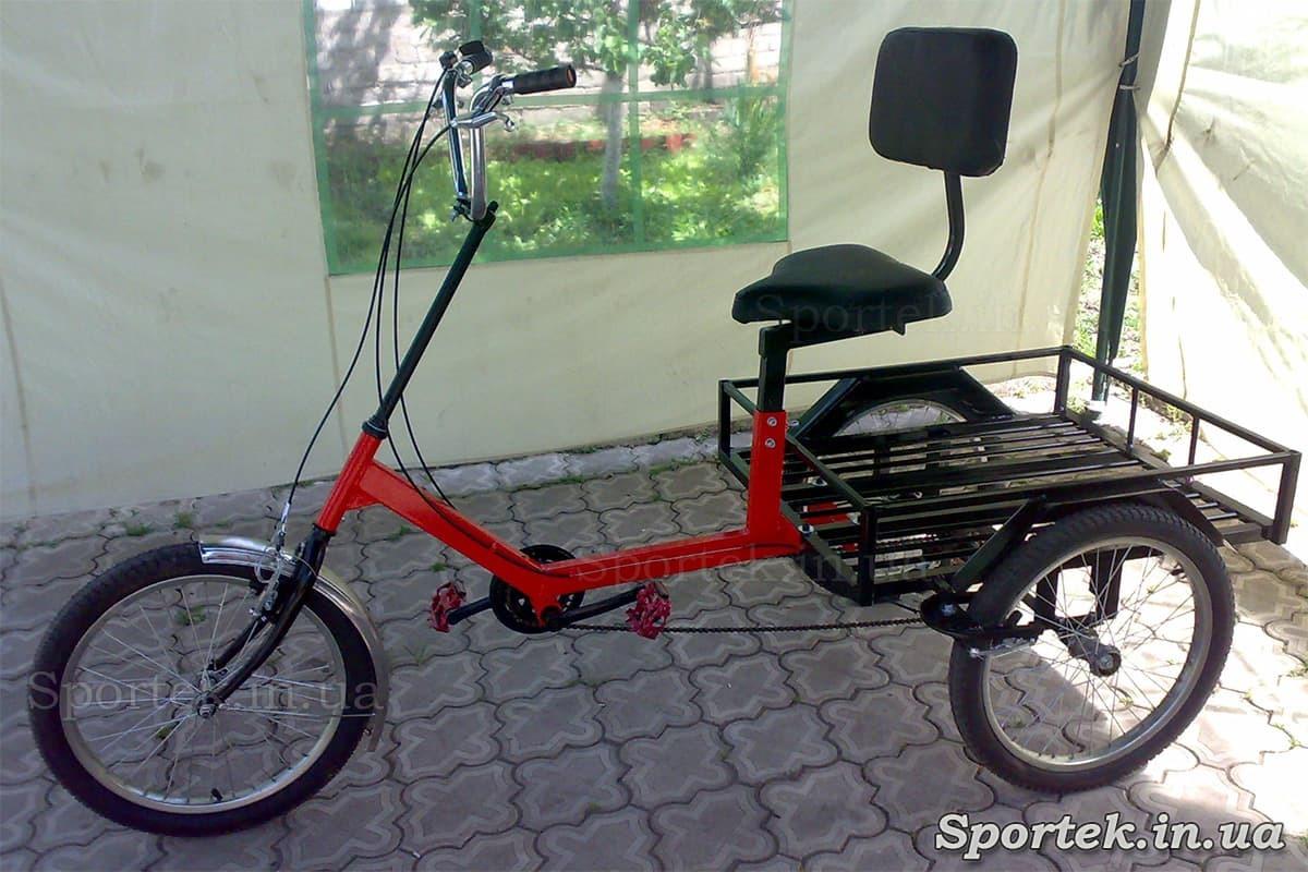 Грузовой трехколесный велосипед 'Атлет большой'