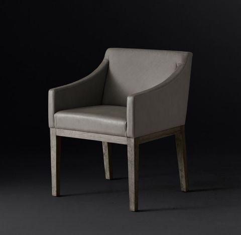 Morgan Slope Arm Leather Armchair