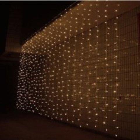 LED гирлянда штора 3 на 3 метра