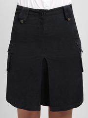 7700-1 юбка женская, черная