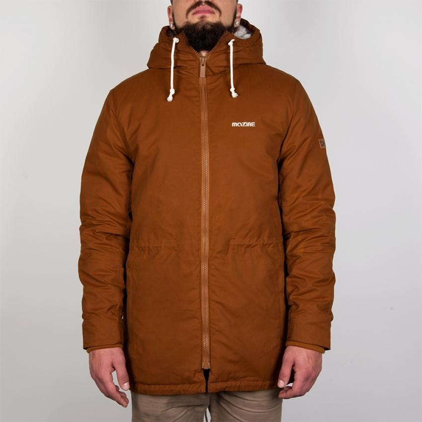 Куртка MAZINE Campus Parka (Коричневый (Simian Brown))