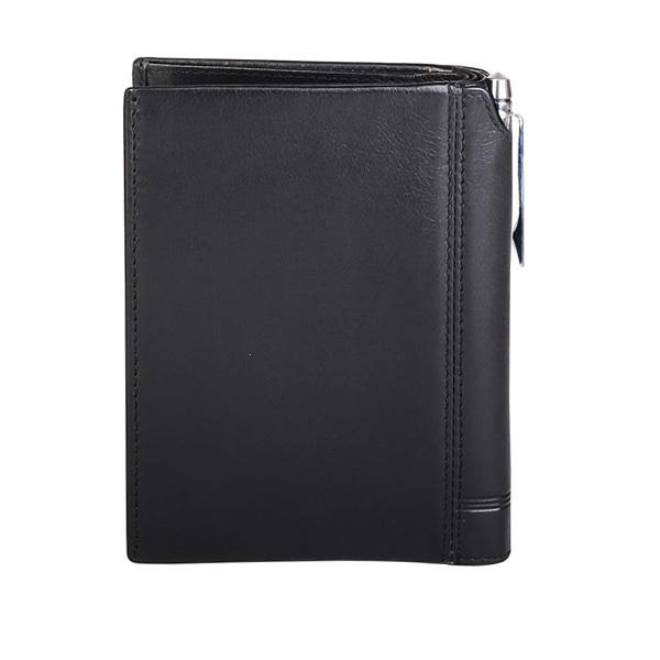 Кошелек Cross Classic Century с отделением для паспорта+ручка, черный, 14х11х1 см