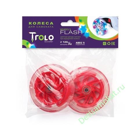 колеса +для самоката trolo