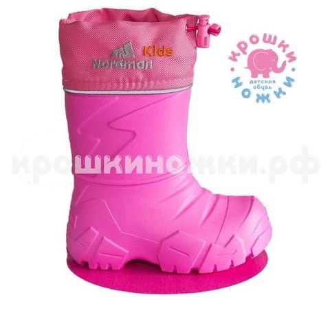 Сапоги утеплённые розовые Nordman Kids