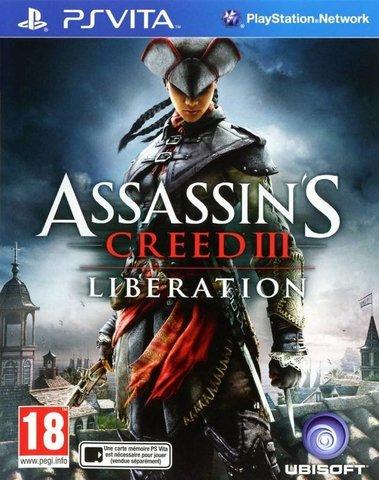Sony PS Vita Assassins Creed III Liberation (русские субтитры)