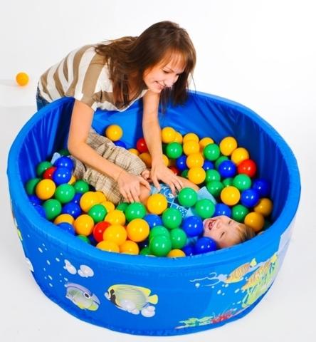 Детский сухой бассейн ROMANA Подводный мир напрокат