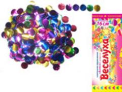 Хлопушка пружинная Блеск конфетти 16 см