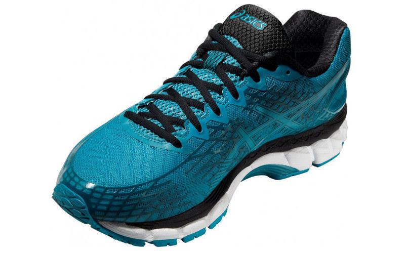 Мужская беговая обувь Asics Gel-Nimbus  17 Lite-Show (T51NQ 3939) синие