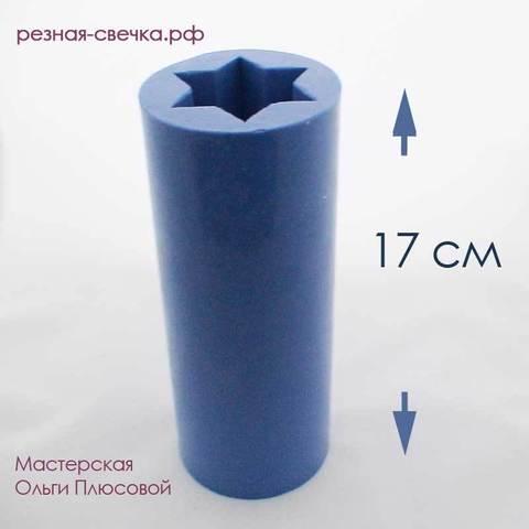 Силиконовая форма для свечей 17 см