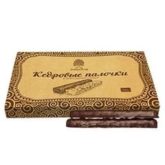 Кедровые палочки, Сибирский Кедр, в шоколаде, 190 г.