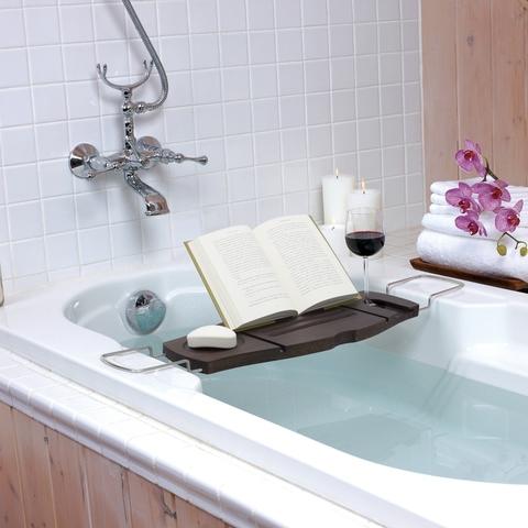 Полка для ванной Aquala орех