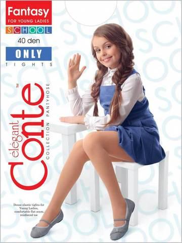 Колготки для девочек School Only 40 Conte