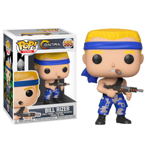 Contra Bill Rizer Funko Pop! || Билл Райзер. Контра