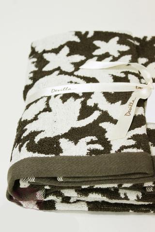 Набор полотенец 3 шт Devilla Vita коричневый