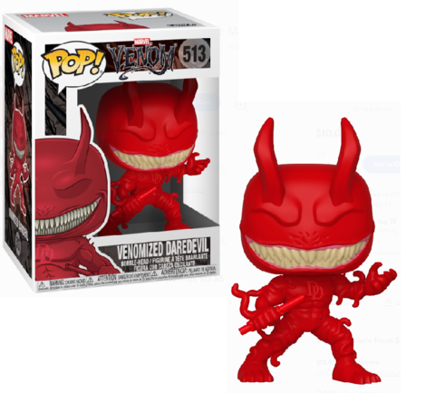 Venomized Daredevil Funko Pop! || Веномизированный Сорвиголова