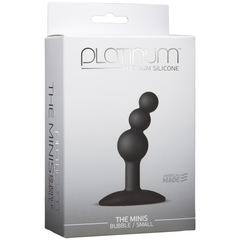 Анальная пробка для ношения Platinum Premium Silicone - The Mini's Bubble (6,80х2,30 см)