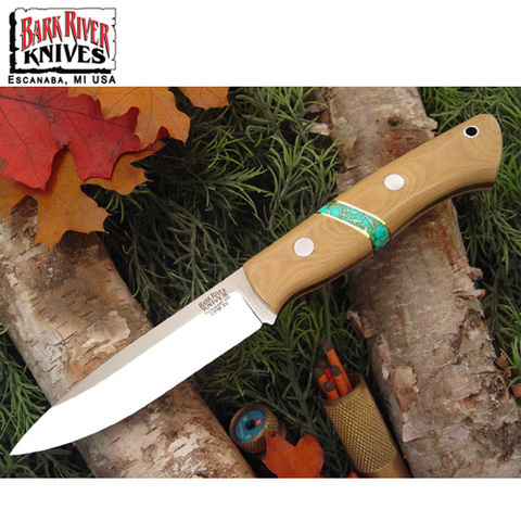 Нож Bark River Aurora модель Antique Ivory Micarta Tuquo