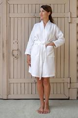 Халат махровый Devilla Kimono New белый