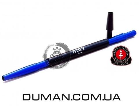 Алюминиевый мундштук AMY DeLuxe синий для кальяна