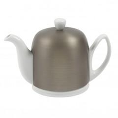 Чайник заварочный на 4 чашки 0.7л Guy Degrenne Salam White цинковый