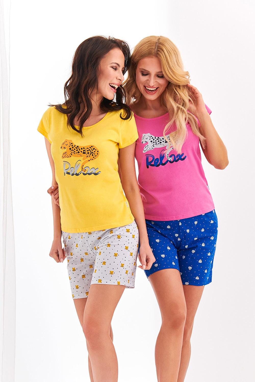Яркая желтая пижама Eryka