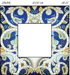 Эскиз для росписи, Зеркало 45/45см, SMAR-zb-25