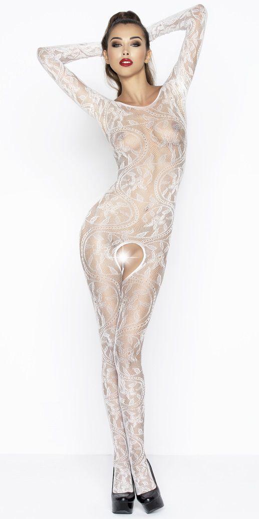 Боди и комбинезоны: Роскошный комбинезон с длинными рукавами и цветочным узором