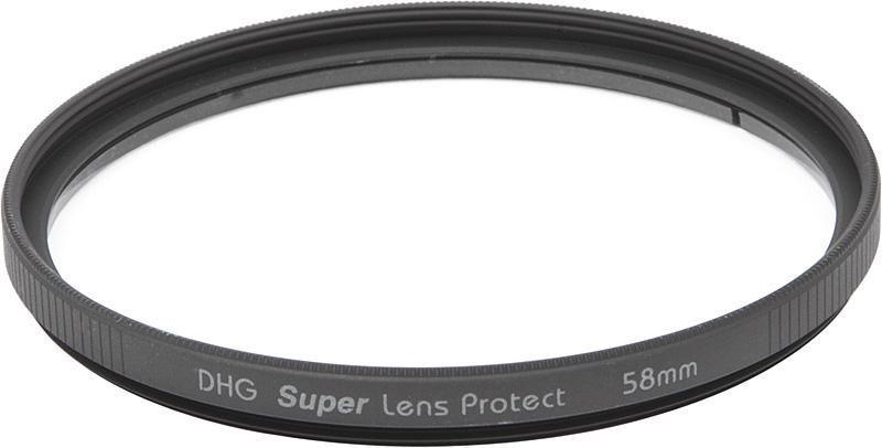 Ультрафиолетовый фильтр Marumi DHG Lens Protect 58mm (светофильтр для фотоаппарата с диаметром объектива 58мм)