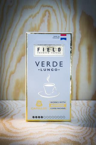 FIELD PREMIUM COFFEE Lungo Verde. Интернет магазин чая