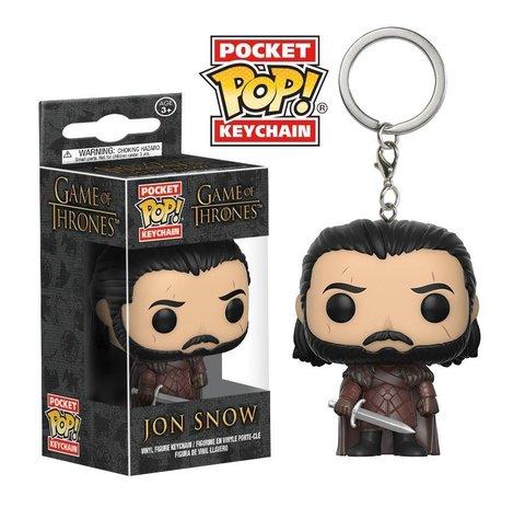 Брелок Джон Сноу || POP! Keychain Jon Snow