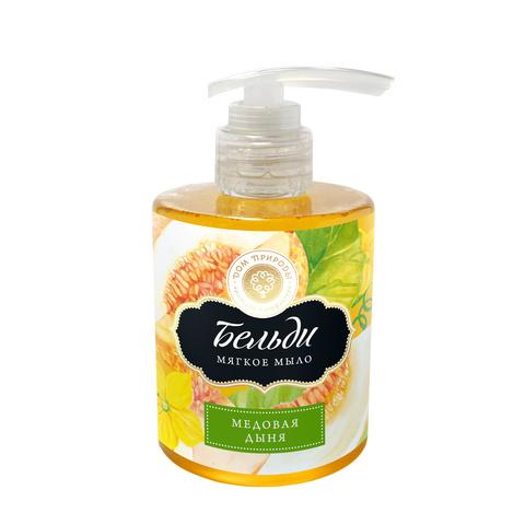 Мягкое мыло «Медовая дыня» нежно очищает, питает и тонизирует кожу