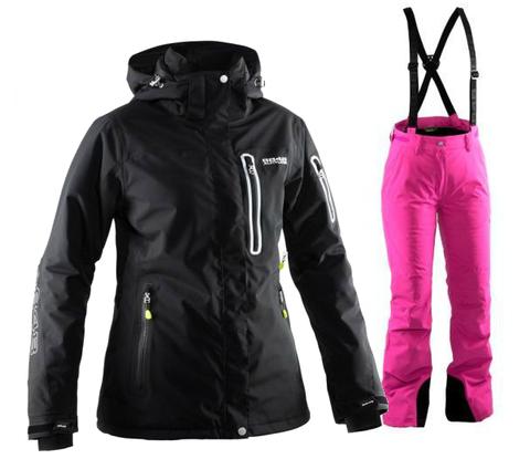 Женский горнолыжный костюм  8848 Altitude Aruba/Winity (black/flox)