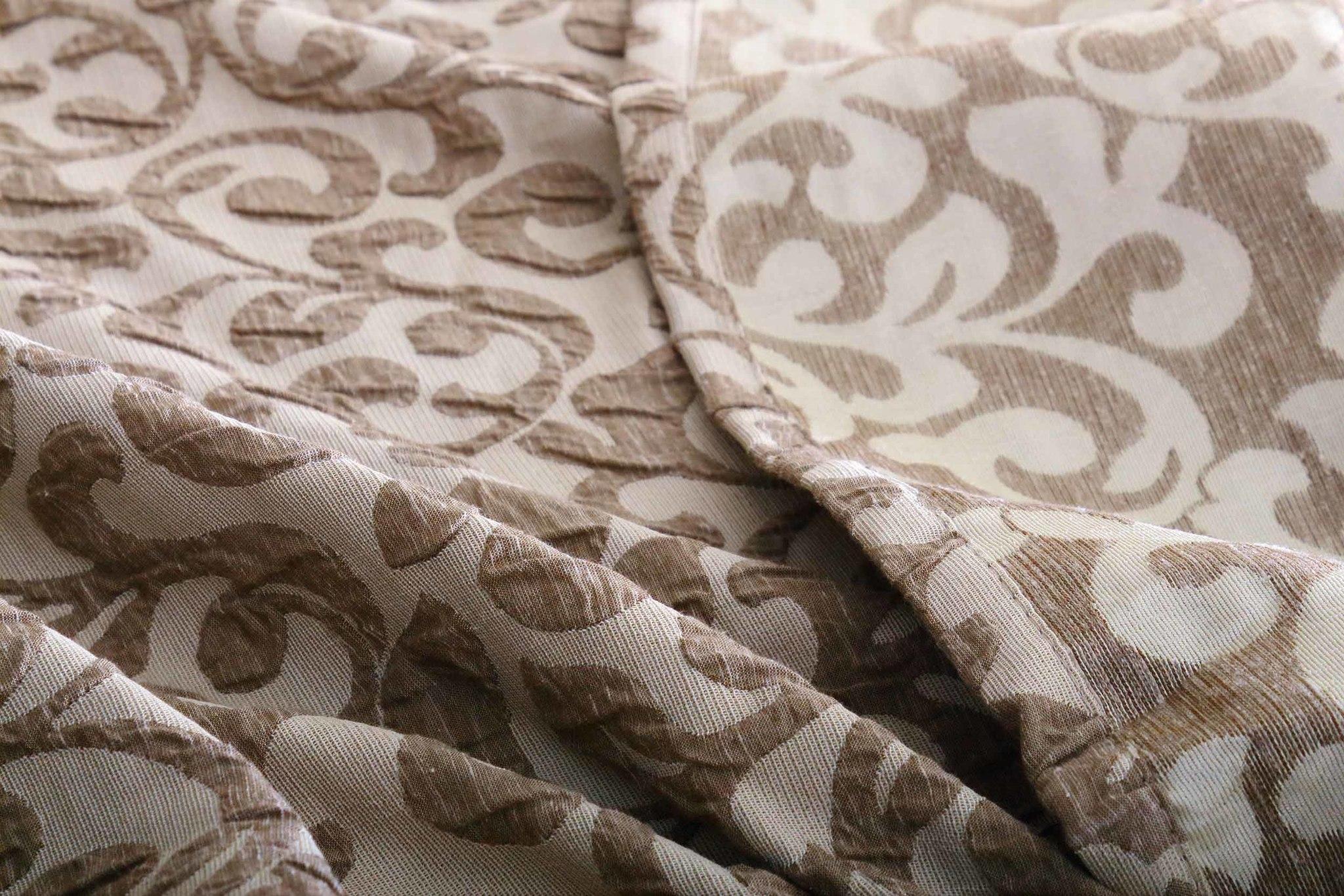 Готовая штора Damas (светло-коричневый)