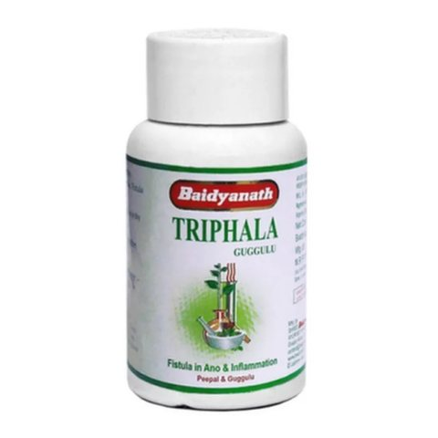Очиститель от токсинов Трифала Гуггул (TRIFALA GUGUL) Baidyanath, 80 таблеток