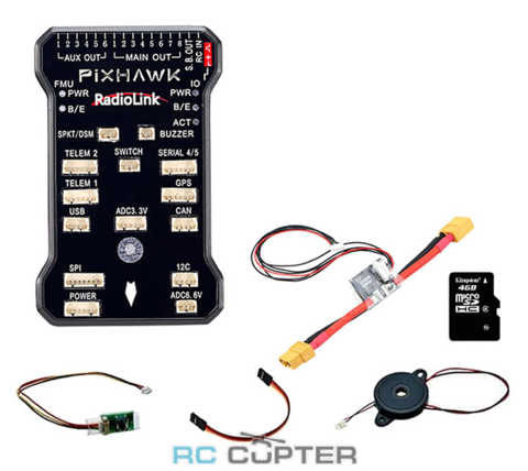 Полётный контроллер Radiolink Pixhawk new circuit design
