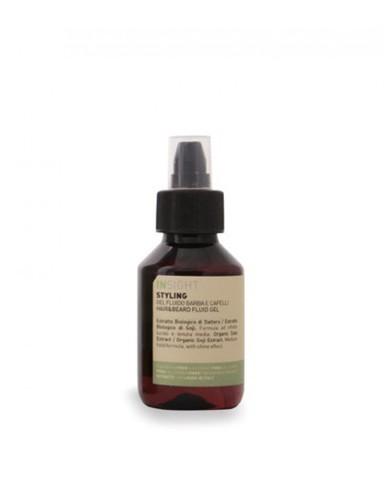 INSIGHT STYLING HAIR & BEARD FLUID GEL / Гель - флюид для волос и бороды (100 мл)
