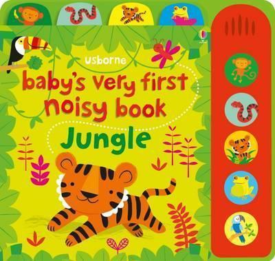 Kitab Baby's Very First Noisy Book Jungle | Fiona Watt