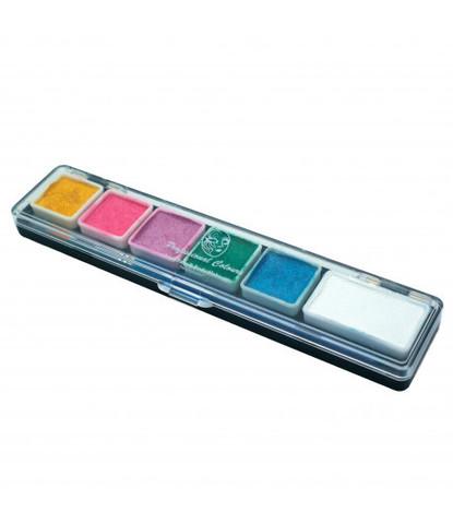 Набор PartyXplosion 6 перламутровых цветов мини