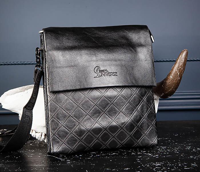 BAG559-1-1 Стильная мужская сумка планшет из кожи фото 04