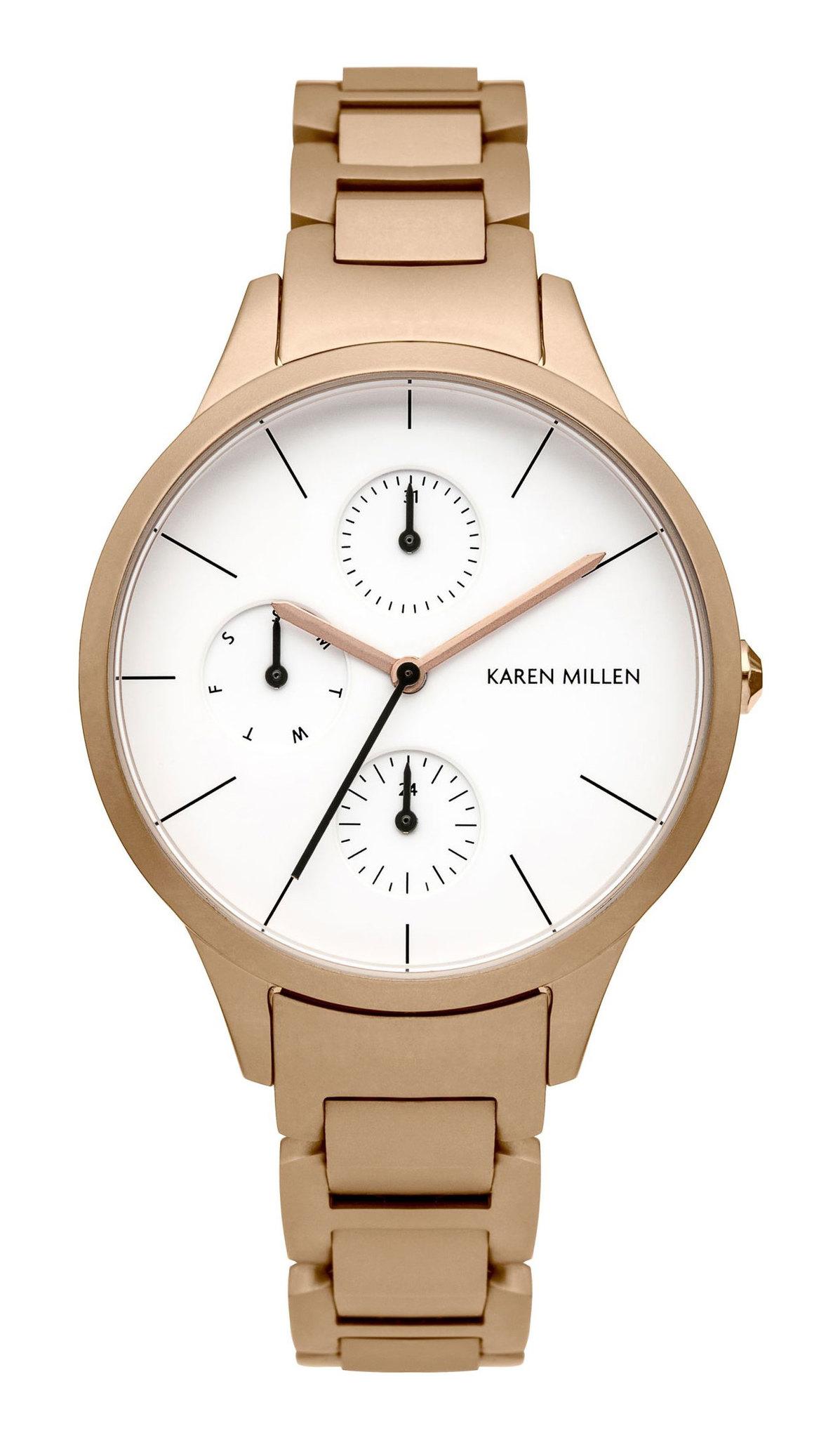 Karen Millen KM144RGM - женские наручные часы из коллекции Autum6