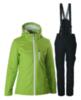 Женский прогулочный утепленный лыжный костюм Nordski Active лайм
