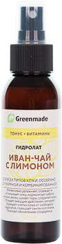 Гидролат ИВАН-ЧАЙ с ЛИМОНОМ Greenmade