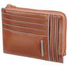 Чехол для кредитных карт Piquadro Blue Square оранжевый телячья кожа (PU1243B2/AR) цена и фото