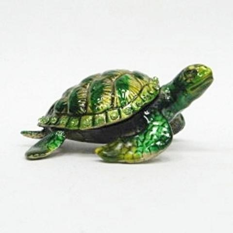 Шкатулка Зеленая Черепаха