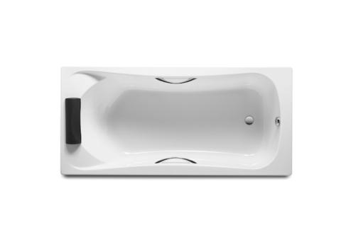 Ванна акриловая прямоугольная BeCool 1700x800х420 Roca с монтажным комплектом ZRU9302852