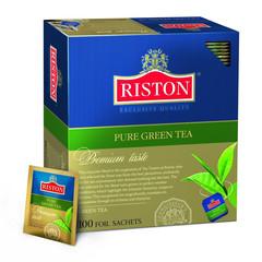 Чай Riston Pure Green Tea зел.100 пак/пач